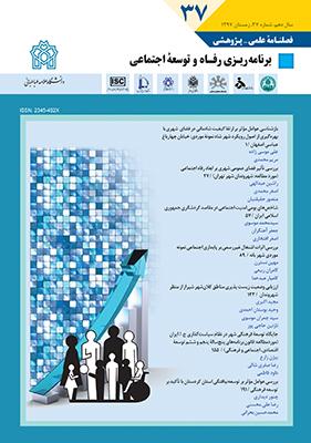 برنامه ریزی رفاه و توسعه اجتماعی